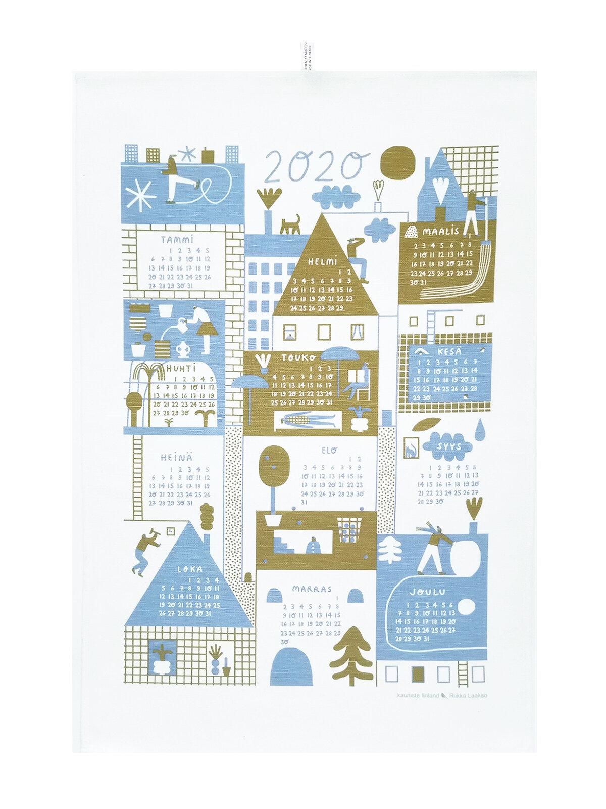 kauniste_kt039_Calendar+2020+olive